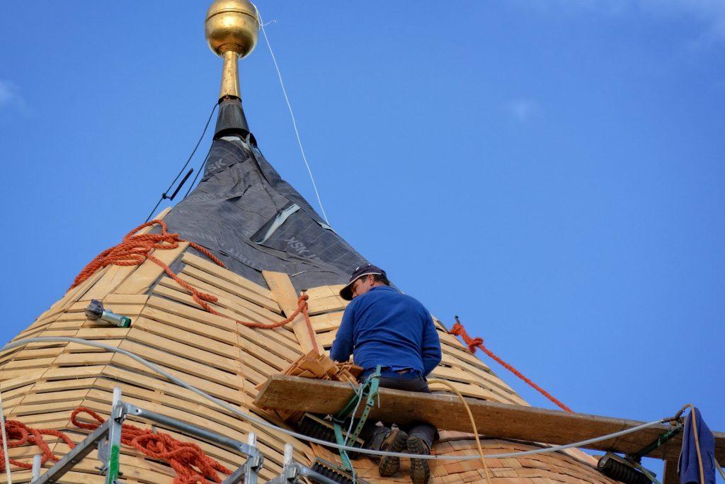 veilig werken op dak