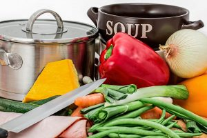 Koken in een fijne keuken