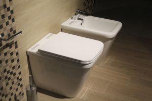 Stijlen interieur toilet